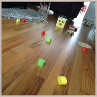 10:30 am--sometimes i pick up the scattered toys during g's morning nap...but usually, not.